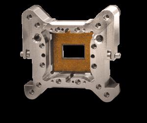 custom socket design for RF and high speed
