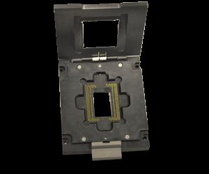 custom socket design for cmos image sensors