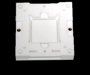 custom socket design with ceramic or ceramaPEEK