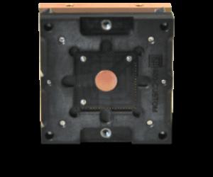 custom socket design with integrated heatsink