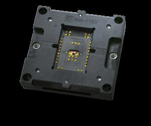 custom socket design with temperature monitoringn