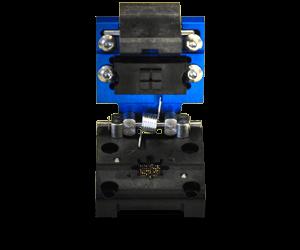 custom socket design for burn-in applications