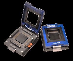open top lids for image sensor sockets