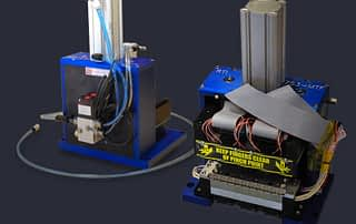 Multi site pneumatic test press for MEMs sensor devices