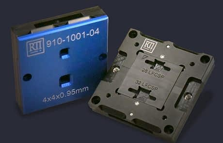 dual site different package ic test socket