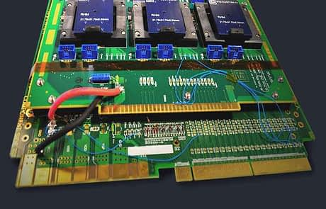 Burn-in and HAST adapter boards for custom test chambers