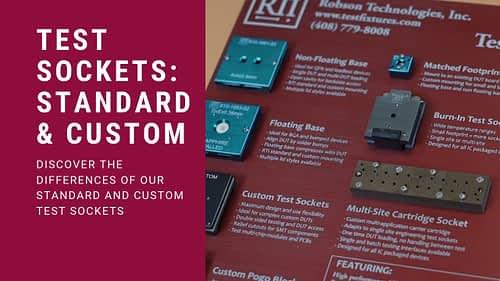 Video: Standard VS Custom Test Sockets