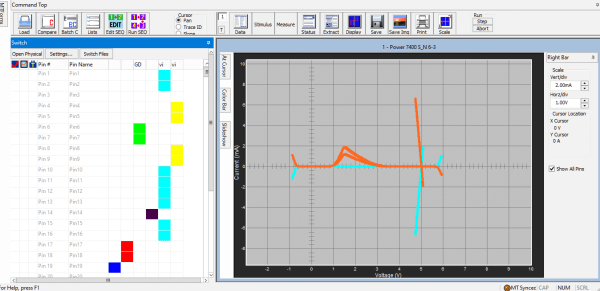 automated curve tracing software tool: powered curve trace
