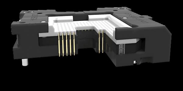 floating base for test sockets
