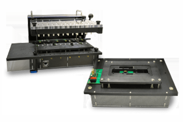 Extended Removable Interface Modules Align and Contact Unit Under Test
