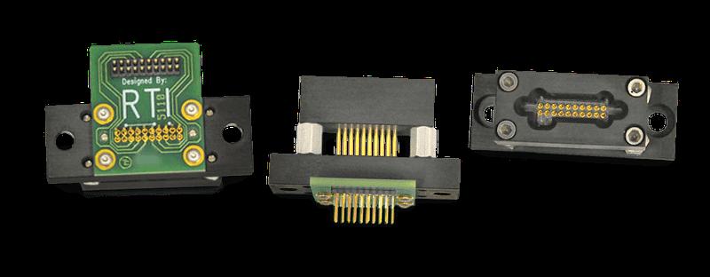 Custom pogo pin block connector savers